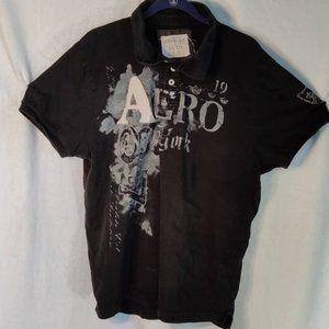 Aeropostale Men Short Sleeve Shirt